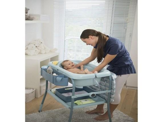 chicco vaschetta e fasciatoio neonato