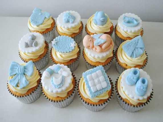 baby shower capcakes