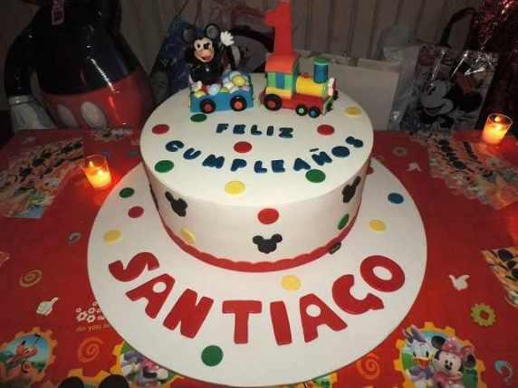 torta primo compleanno figlio belen e stefan