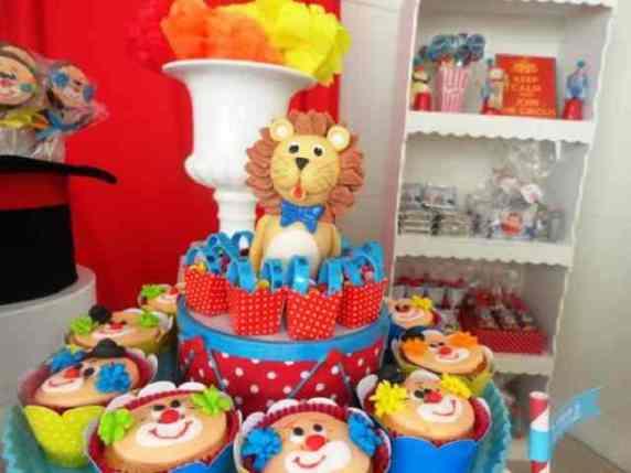 primo compleanno tema circo
