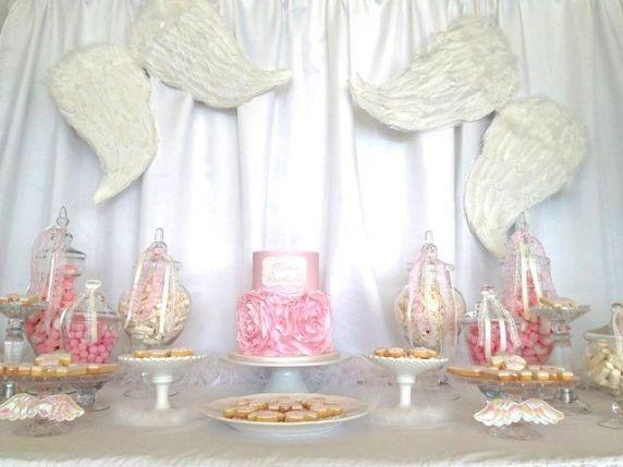festa primo compleanno tema angelo