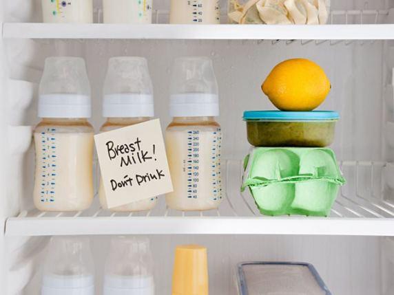 latte materno conservazione