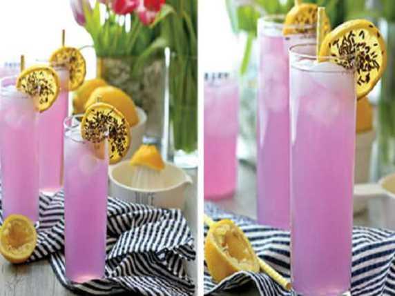 limonata colore viola