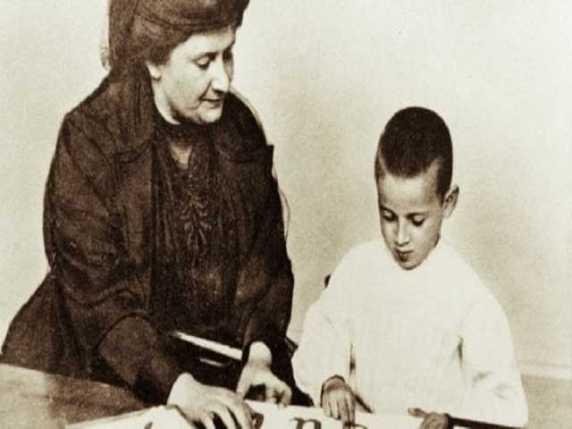 Maria Montessori bambini