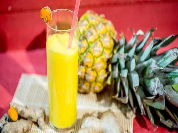 punch ananas e zenzero