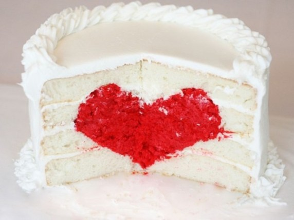 torta bianca per baby shower