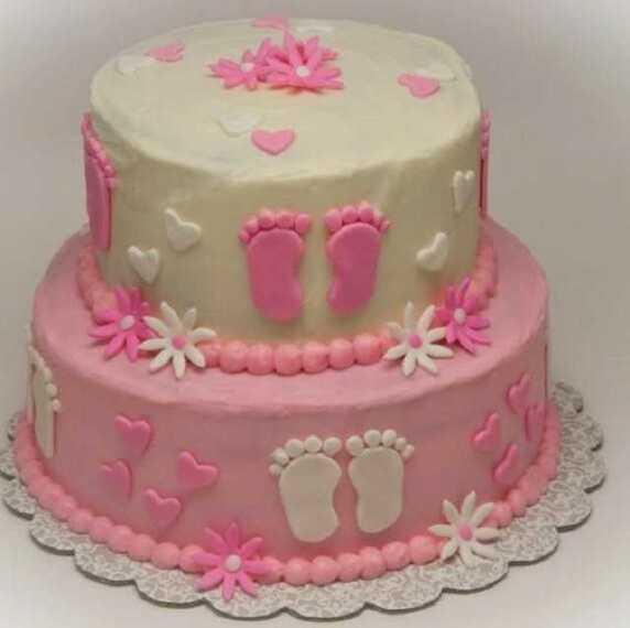 baby shower torta originale