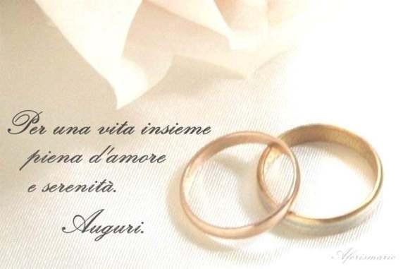 frase per matrimonio
