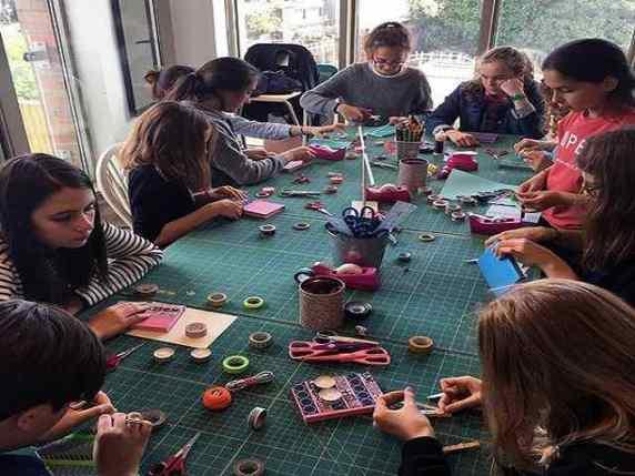 laboratorio di moda bambine