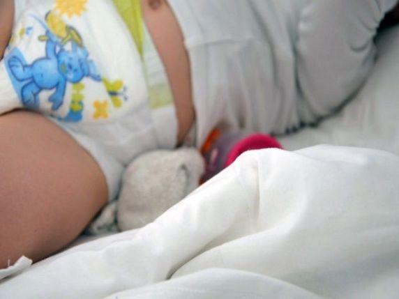 cacca neonato verde