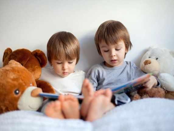 foto due bambini