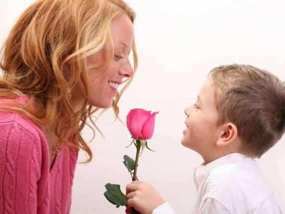 foto mamma e bambino