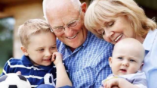 foto nonni e nipoti