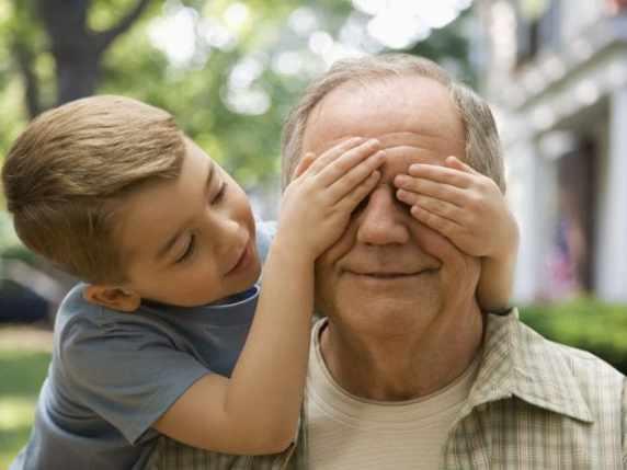 foto nonno e nipote