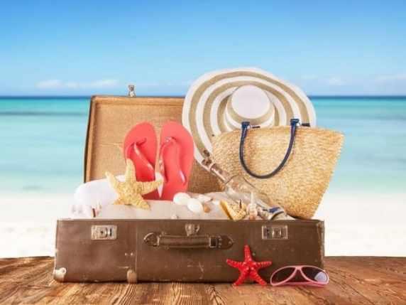 foto valigia vacanze