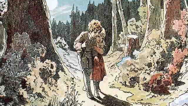 Foto Hänsel e Gretel nel bosco