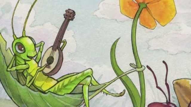 foto cicala e formica favola