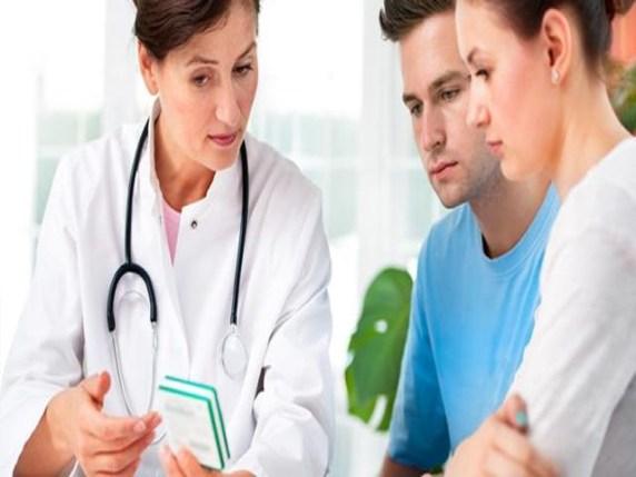 Foto gravidanza e medico