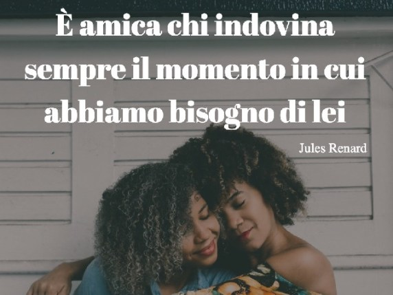 Foto Immagini amicizia tra donne