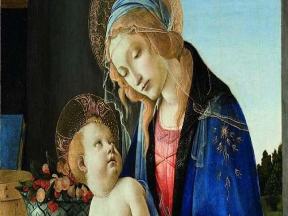 Foto Vergine Maria e Gesu Bambino