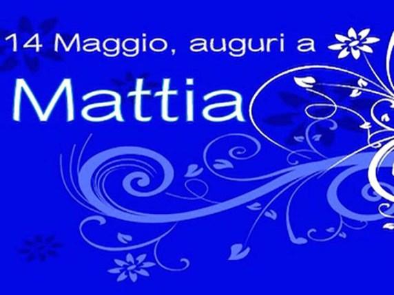 Foto onomastico Mattia