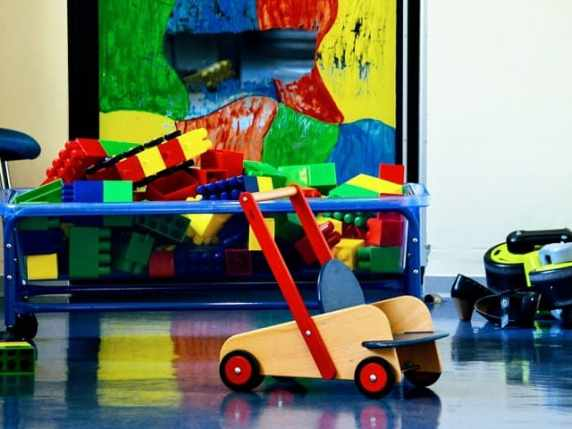 foto asilo costruzioni giochi
