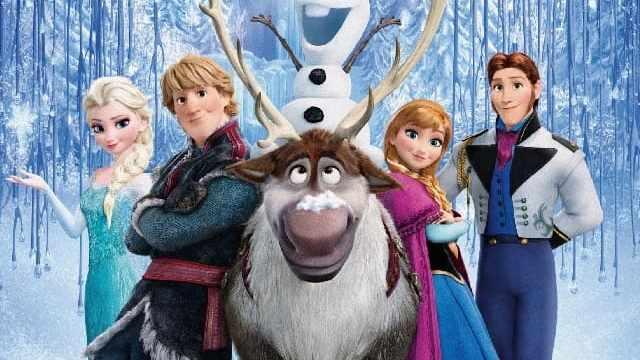 foto frozen personaggi