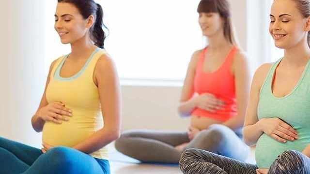 foto ginnastica in gravidanza