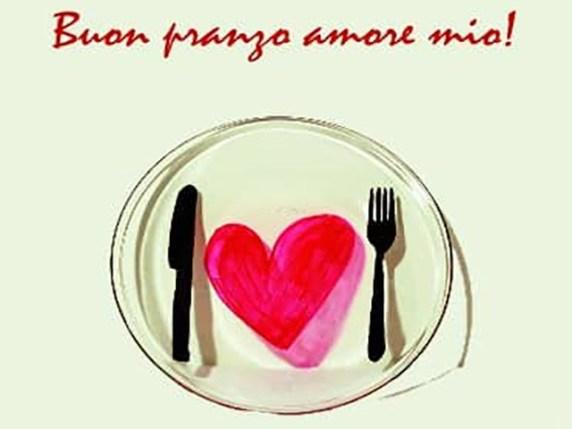 buon appetito amore mio