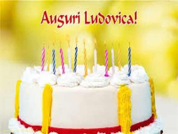 Buon compleanno Ludovica immagini