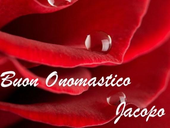 Foto buon onomastico San Jacopo