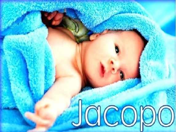 Onomastico Jacopo