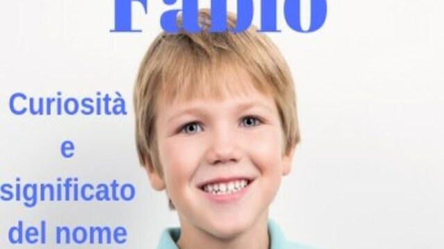 foto fabio bambino