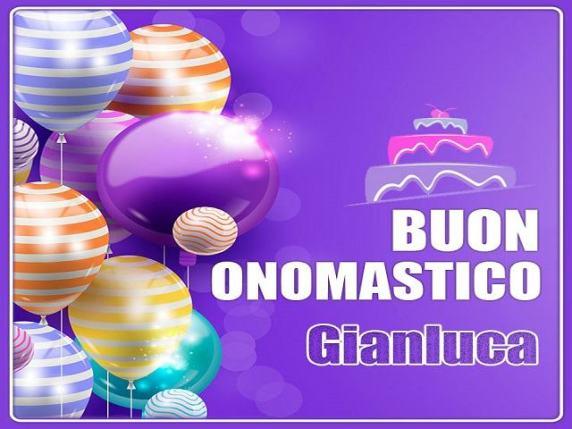buon onomastico Gianluca