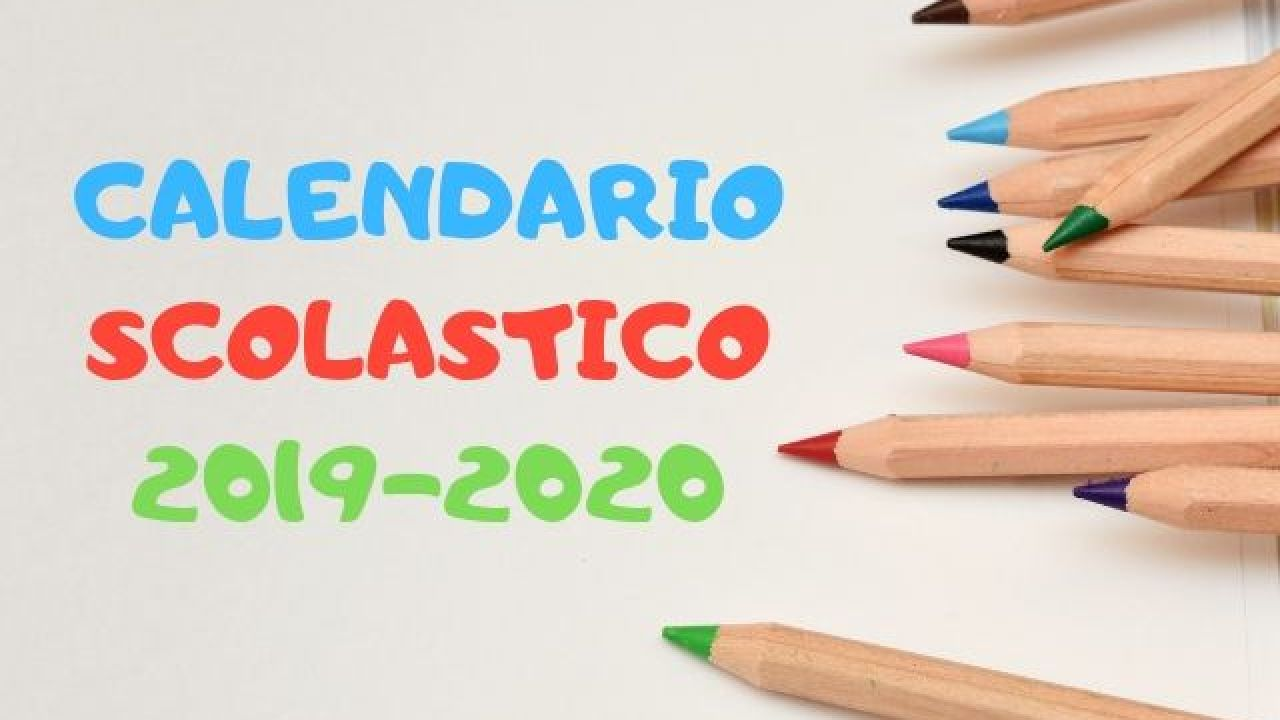 Calendario Scolastico 2020 E 2020 Lombardia.Inizio Anno Scolastico 2019 2020 Passione Mamma