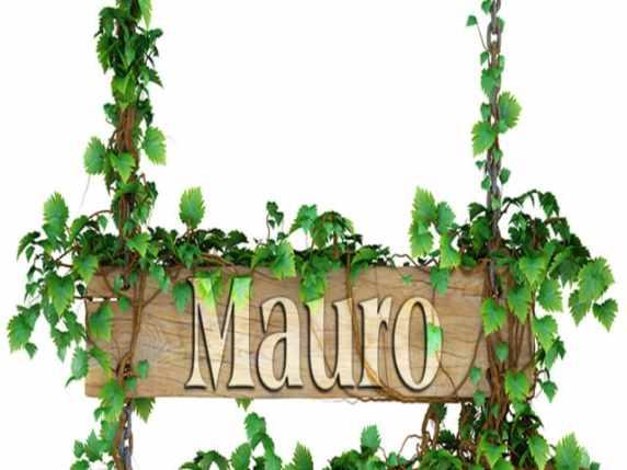 foto origine nome mauro