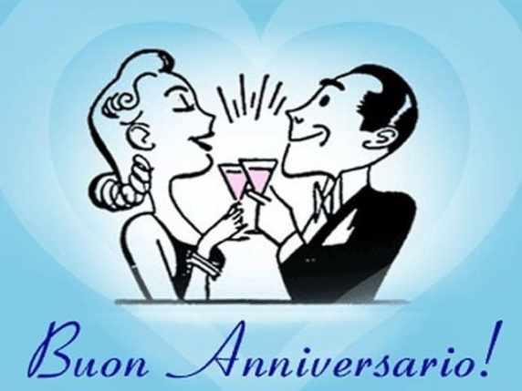 Anniversario Di Matrimonio Spiritosi.Buon Anniversario Le Immagini E Le Frasi Per Fare Gli Auguri In