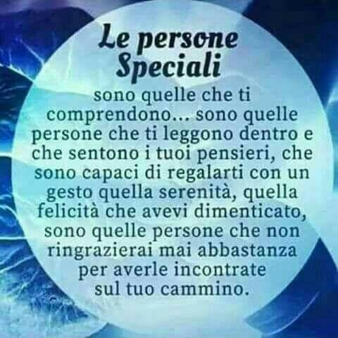 frasi per una persona speciale