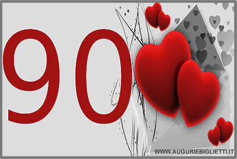 auguri 90 anni
