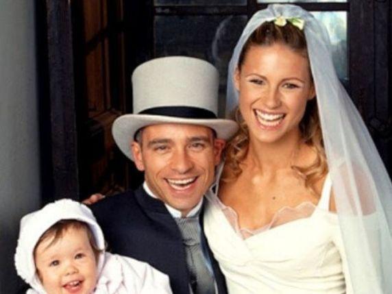 foto matrimonio Michelle Hunziker e Eros Ramazzotti