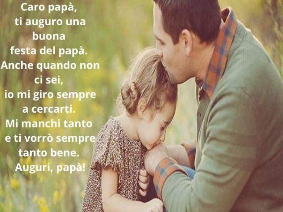 frasi d'amore per un padre morto