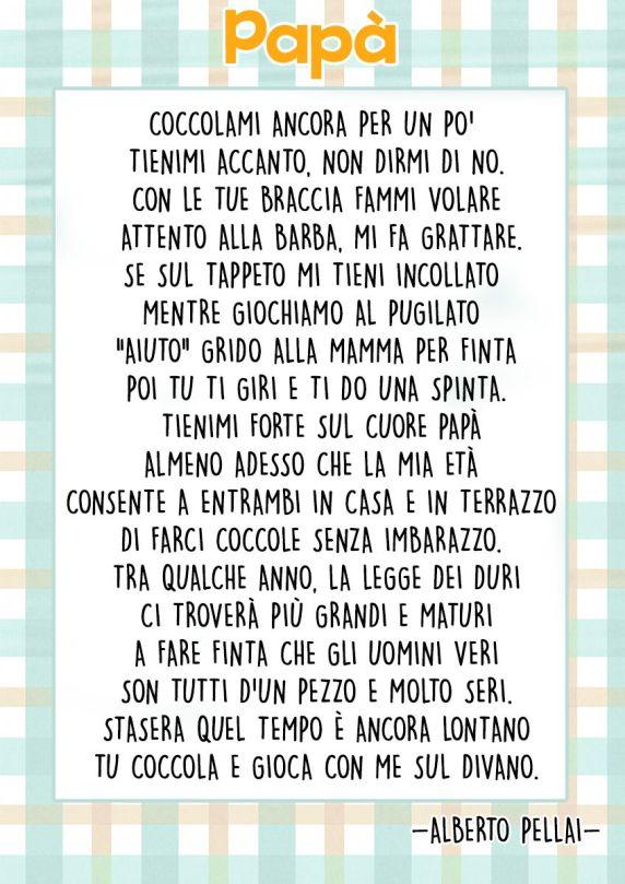 poesie per il papà