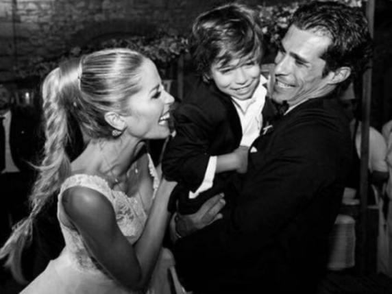 Elena Santarelli sposa