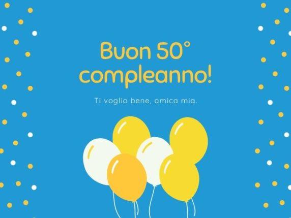 50 anni compleanno