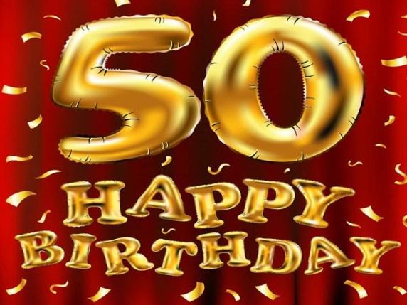 auguri compleanno 50 anni