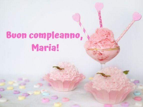 buon compleanno maria