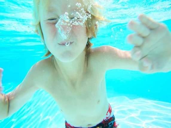 annegamento bambini