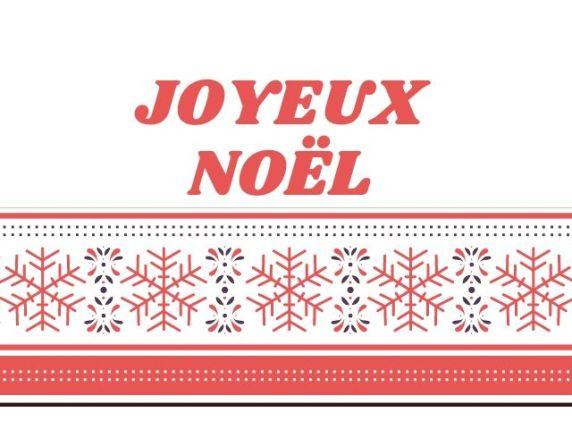 auguri di buon natale in francese