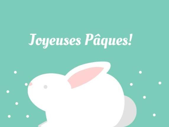auguri di pasqua in francese