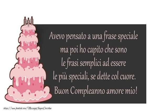 buon compleanno amore